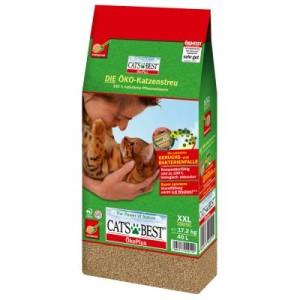 Cat's Best Öko Plus Katzenstreu - 40 l + 20 l (ca. 27 kg)