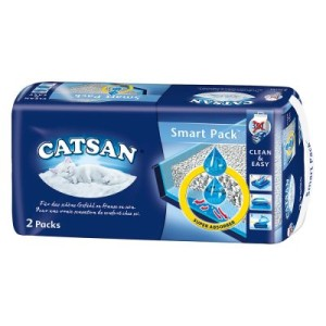 Catsan Smart Pack - 3 x 2 Packs