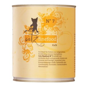 Catz Finefood Dose 6 x 800 g - Kalb