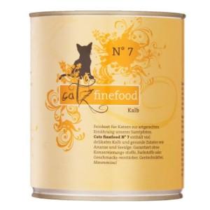 Catz Finefood Dose 6 x 800 g - passender Dosenlöffel