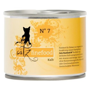 Catz Finefood Probierpaket 6 x 200 g - passende Dosendeckel (3er Set)