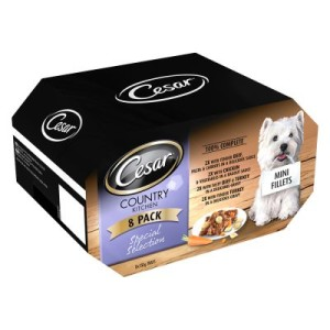 Cesar Country Kitchen Favourites Mixkarton - 8 x 150 g
