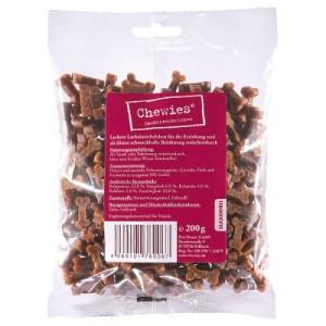 Chewies Knöchelchen Kausnacks (semi-moist) - Lachsknöchelchen 4 x 200 g