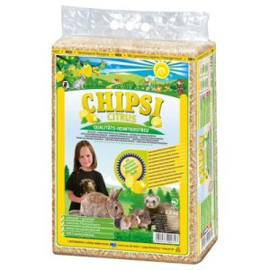 Chipsi Citrus Heimtierstreu - 60 Liter (ca. 3