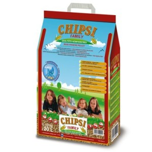 Chipsi Family Mais-Hygiene-Pellets - 2 x 20 Liter