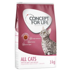 Concept for Life All Cats - Sparpaket 2 x 10 kg