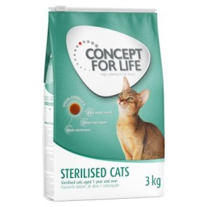 Concept for Life Sterilised Cats - Sparpaket 2 x 10 kg