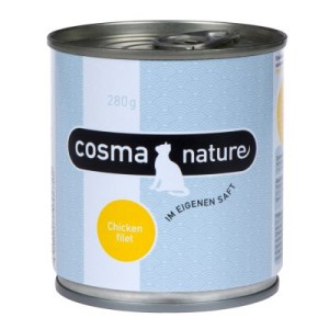 Cosma Nature 6 x 280 g - Hühnerbrust & Thunfisch