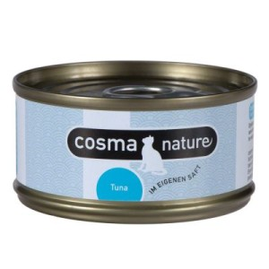 Cosma Nature 6 x 70 g - Hühnerbrust & Thunfisch