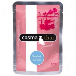 Cosma Thai Frischebeutel 6 x 100 g - Thunfisch & Krebsfleisch
