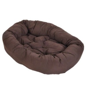 Cozy Hundebett Mocca - ca. L 110 x B 95 x H 20 cm