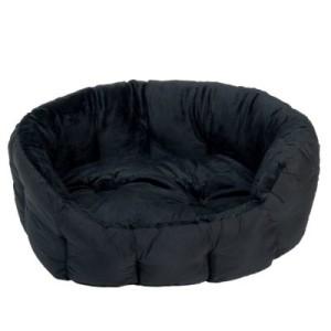 Cozy Hundebett Panther - L 60 x B 55 x H 22 cm