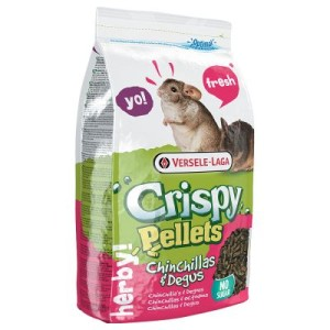 Crispy Pellets Chinchillas & Degus - 2 x 1 kg