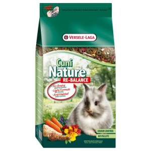 Cuni Nature Re-Balance Kaninchenfutter - 2 x 10 kg *