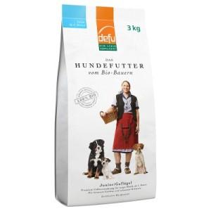 Defu Junior Biofutter - Sparpaket: 3 x 3 kg