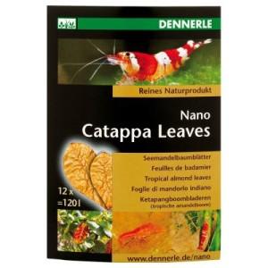 Dennerle Nano Catappa Leaves - 12 Stück (ca. 5 g)