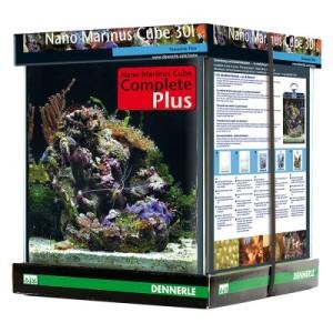 Dennerle Nano Marinus Cube Complete PLUS 30 Liter - Maße: L 30 x B 30 x H 35 cm