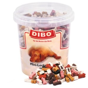 Dibo Leckerli-Mix für Hunde (semi-moist) - 3 x 500 g
