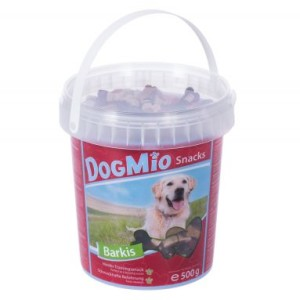 DogMio Barkis (semi-moist) - Sparpaket 3 x 450 g Nachfüllbeutel