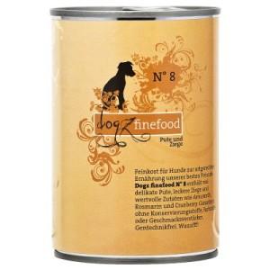 Dogz Finefood Dose 6 x 400 g - Wild & Hering