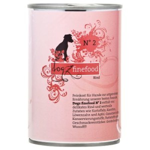 Dogz Finefood gemischtes Probierpaket - 6 x 400 g