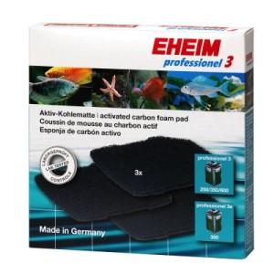 EHEIM Aktiv-Kohlematten für Außenfilter professionel 3 & 3e - 3 Stück