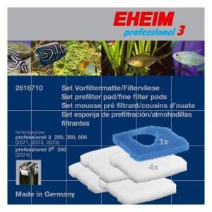EHEIM Set Filtermatte/Filtervlies für professionel 3 - 1 Set (5-teilig)