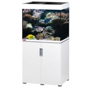 EHEIM incpiria 200 marine Aquarium Kombination - schwarz hochglanz/silbermetallic