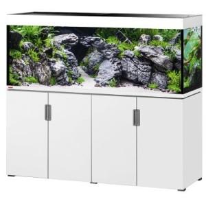 EHEIM incpiria 500 Aquarium Kombination - schwarz hochglanz/silbermetallic