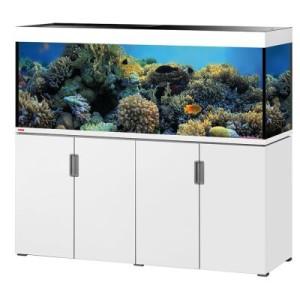 EHEIM incpiria 500 marine Aquarium Kombination - schwarz hochglanz/silbermetallic