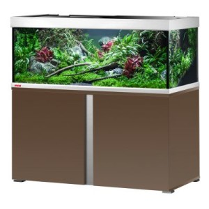 EHEIM proxima 325 Aquarium Kombination - mokka edelglanz
