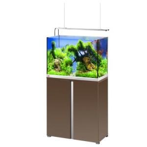 EHEIM proxima plus 175 Aquarium Kombination - mokka edelglanz