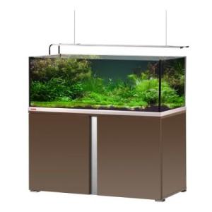 EHEIM proxima plus 325 Aquarium Kombination - mokka edelglanz