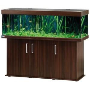 EHEIM vivaline 330 Aquarium Kombination - nussbaum