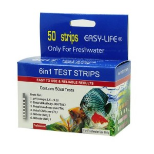 Easy-Life Test Strips 6 in 1 Wassertest - Doppelpack: 2 x 50 Teststreifen