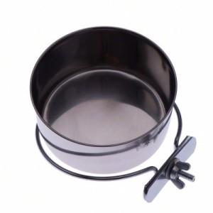 Edelstahlnapf mit Schraubbefestigung - 280 ml