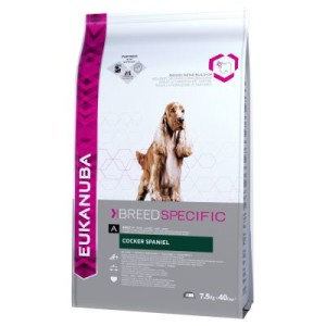 Eukanuba Adult Breed Specific Cocker Spaniel - Sparpaket: 2 x 7