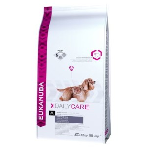 Eukanuba Adult Daily Care Sensitive Skin - Sparpaket: 2 x 12 kg