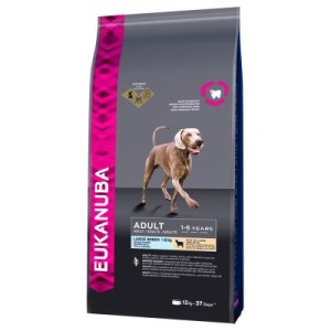 Eukanuba Adult Large Breed Lamm & Reis - Sparpaket: 2 x 12 kg