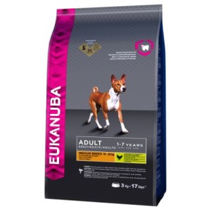Eukanuba Adult Medium Breed Huhn - 3 kg