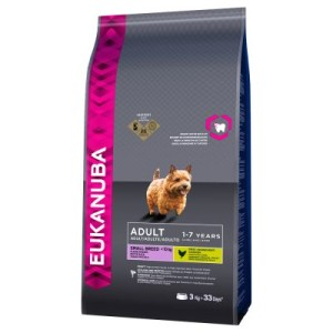 Eukanuba Adult Small Breed Huhn - Sparpaket: 2 x 7