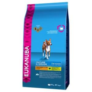 Eukanuba Mature & Senior Medium Breed Huhn - Sparpaket: 2 x 15 kg