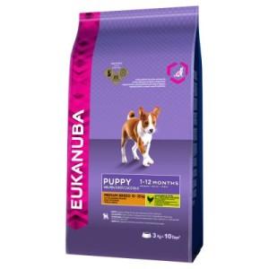 Eukanuba Puppy Medium Breed Huhn - Sparpaket: 2 x 15 kg