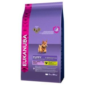 Eukanuba Puppy Small Breed Huhn - 3 kg