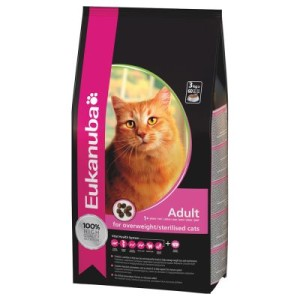 Eukanuba Sterilised/Weight Control Adult - 3 kg