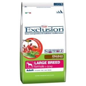Exclusion Mediterraneo Adult Large mit Huhn - Sparpaket: 2 x 12