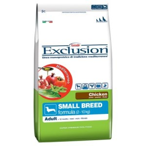 Exclusion Mediterraneo Adult Small mit Huhn - Sparpaket: 2 x 7