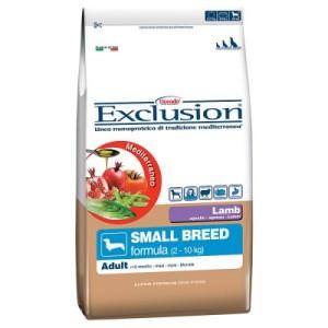 Exclusion Mediterraneo Adult Small mit Lamm - Sparpaket: 2 x 10 kg