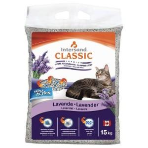 Extreme Classic Katzenstreu mit Lavendelduft - Sparpaket 2 x 15 kg