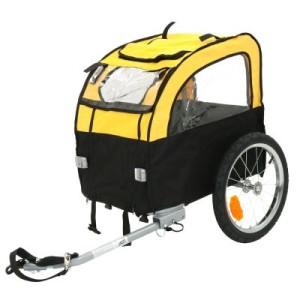 Fahrradanhänger Mini Bee - L 105 x B 58 x H 73 cm/bis 25 kg